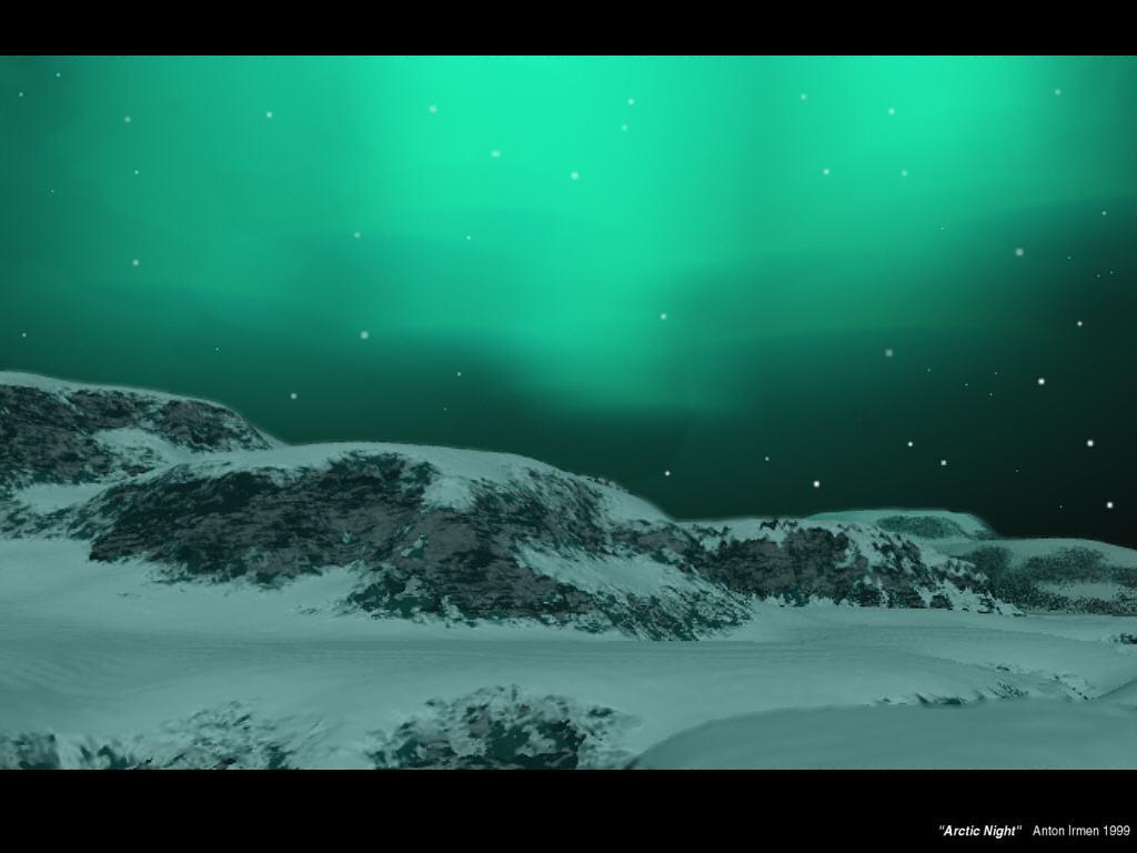 Arctic Night Wallpaper   galleryhip.com - The Hippest Galleries!